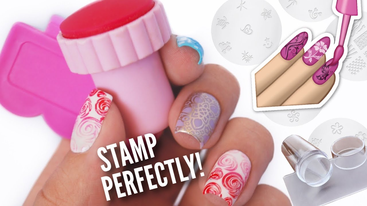 Stamp Your Nails Perfectly! | DIY, Hacks, Tips & Tricks For Nail Art ...