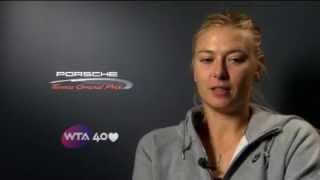 STUTTGART: SHARAPOVA INTERVIEW (RUSSIAN)