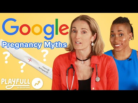 Doctors Answer Commonly Googled Pregnancy Myths