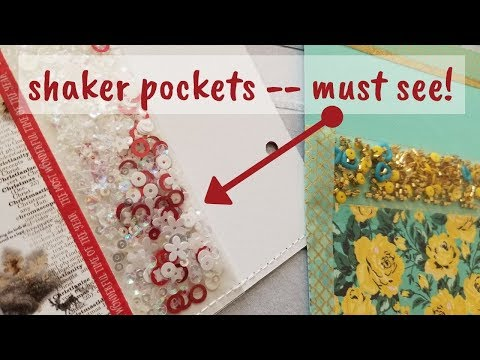 Shaker Pockets Tutorial.  New and FUN!