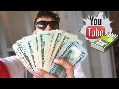 MI PRIMER CHEQUE DE YOUTUBE!!! (HotSpanish Vlogs)