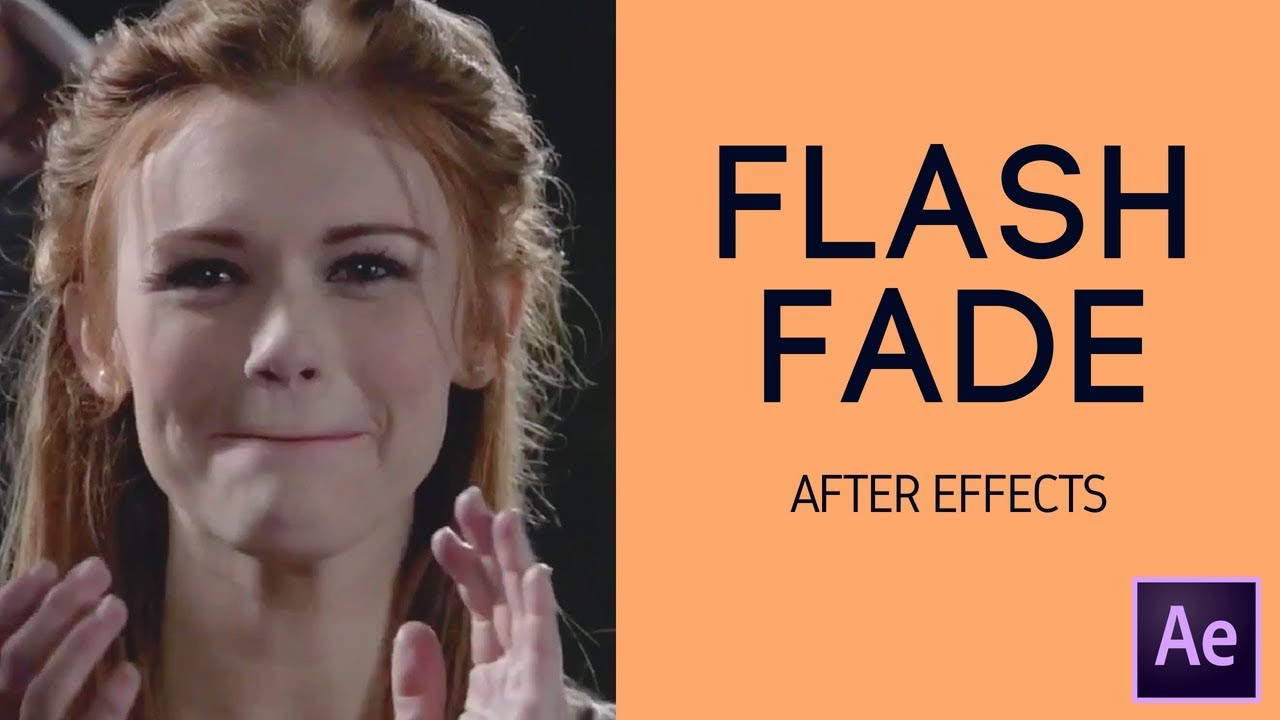Flash fade transition | adobe after effects tutorial youtube.