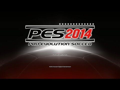 PES 2014 - Intro, Menu, Teams