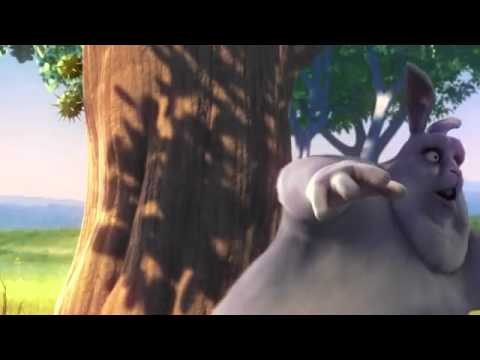 Big Buck Bunny (Open Movie created in Blender OpenSource 3D