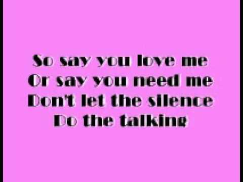 Alexandar burke - The Silence With Lyrics