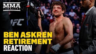 Ben Askren Retirement Reaction - MMA Fighting