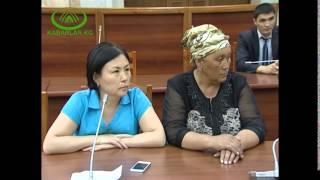 Спикер Асылбек Жеенбеков Алайдан келген өкүлдөр менен жолугушту