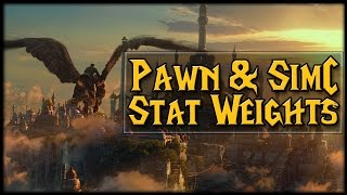 Stat Weights With Pawn + Simulation Craft