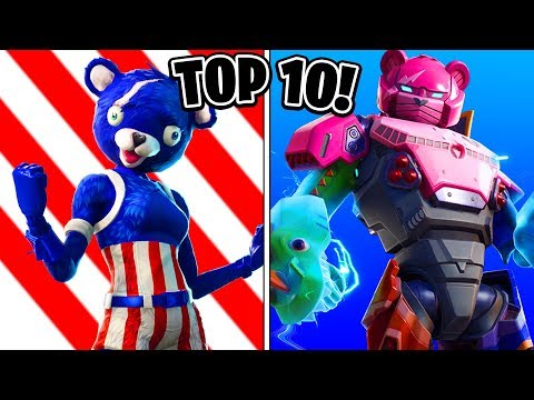 TOP 10 BEST FORTNITE SKINS OF ALL TIME! (Criz Personal Top 10 List) Fortnite Skins Ranked