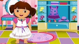 ♥ Даша ▬ хозяюшка стирает вещи ▬ видео игра для детей ☺