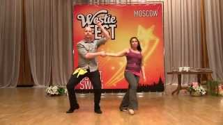 Teachers' Show — Matt & Crystal. Moscow Westie Fest 2013