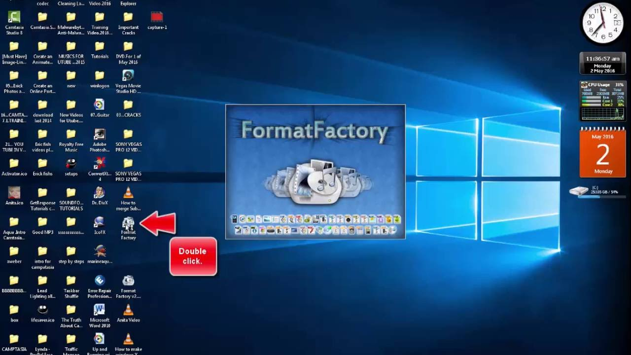 how to join files with format factory