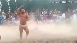 यह कुश्ती देखकर आँखे फटी रह जायेंगी।ऐसा कमर तोड दांव।what did this wrestler do in front of everyone?