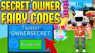 SECRET BESITZER FEE UPDATE CODES IN ICE CREAM SIMULATOR! (ROBLOX)