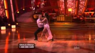 DWTS - Chris Jerocho & Cheryl Burke - Rumba