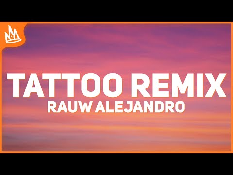 Rauw Alejandro – Tattoo Remix (Letra) ft. Camilo