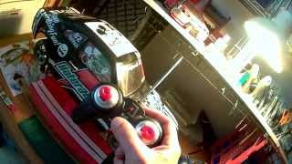 custom drift rc shell mazda rx3 with light and sound kit