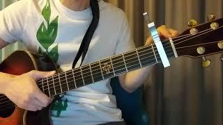 james arthur - 'falling like the stars' guitar tutorial