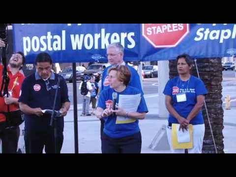 American Federation of Teachers #StopStaples Rally