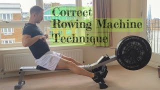 Correct Rowing Machine Technique