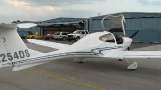 Flying the Diamond DA40