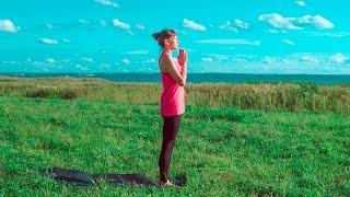 Хатха-йога для начинающих: «Осознавая момент». Наталья Митина