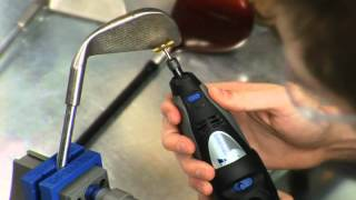 How to Clean your Golf Clubs with Dremel Tools