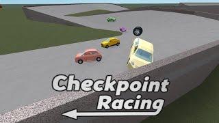 Roblox: Checkpoint Racing!!!