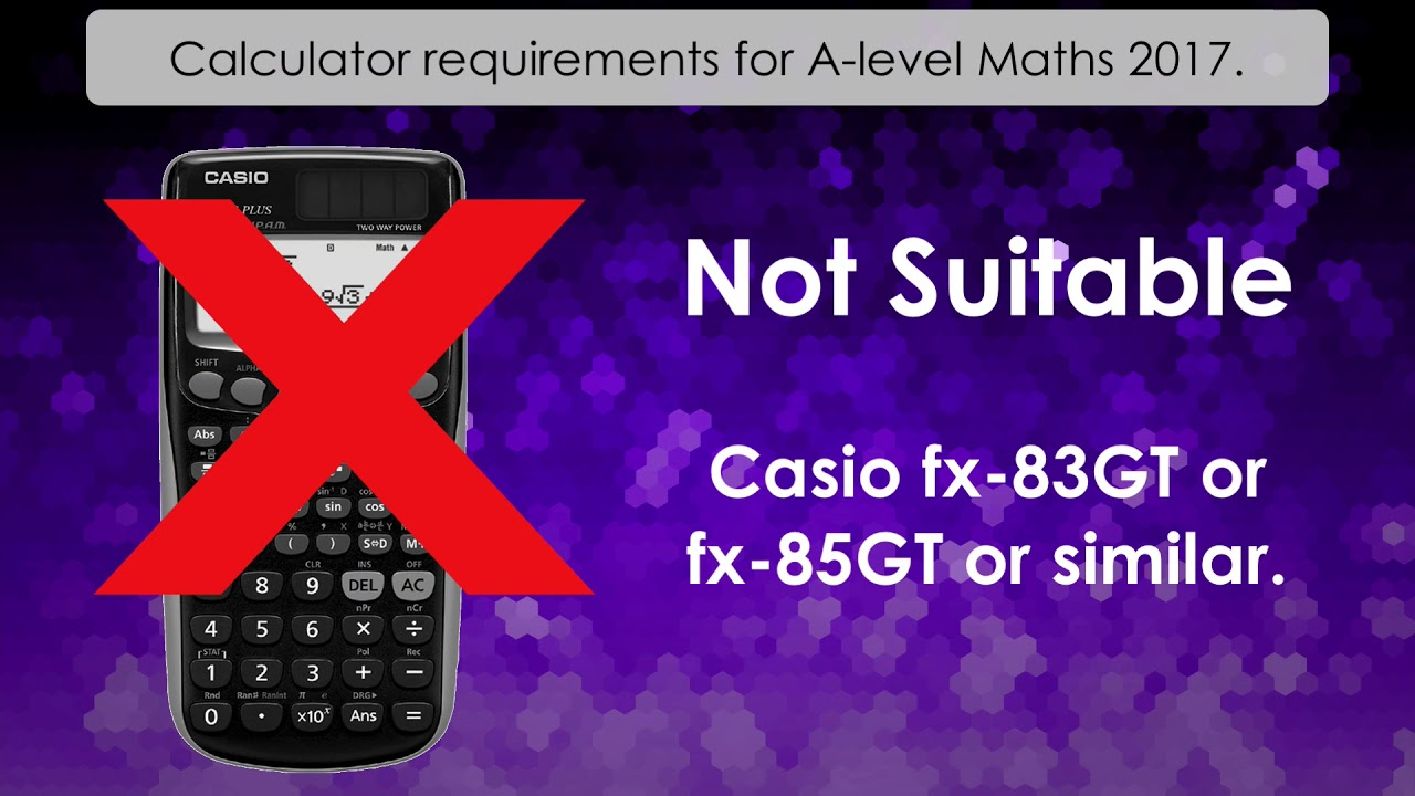 Calculator requirements for a level maths 2017 a level calculator requirements for a level maths 2017 a level mathematics further maths buycottarizona Choice Image