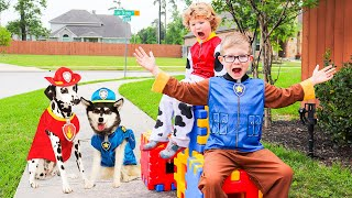 Paw Patrol Kids Play with Ready Race Rescue Toys