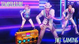 Dance Central 3 - Temperature [Hard 100% Gold Stars]