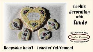 Retirement Keepsake Cookie For Teachers
