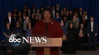 Stacey Abrams delivers Democratic response to Trump's State of the Union