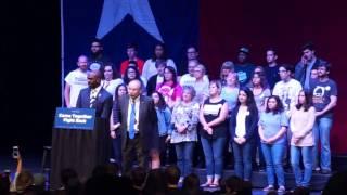 Grand Prairie Welcomes Bernie Sanders