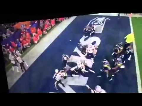 SuperBowl 49 Seahawks - Patriots Fight