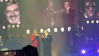 Robbie Williams & Poppa Pete - It's a Wonderful Life - Live @ SSE Arena, London - 16/12/2019