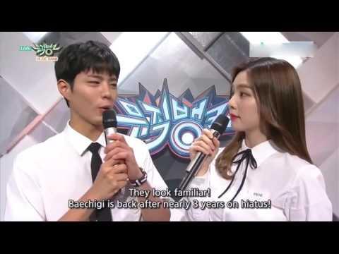 160617 IreneRed Velvet MC Cut (eng sub) @ Music Bank