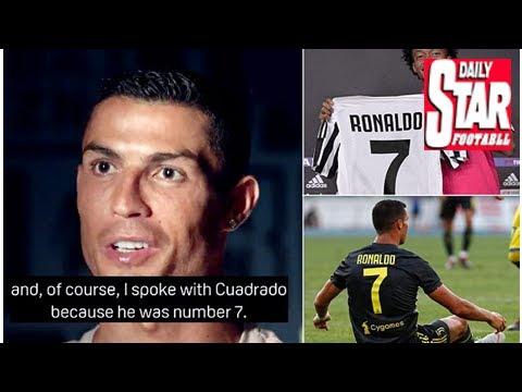 c67705753 Cristiano Ronaldo explains how he secured the No 7 shirt at Juventus ...