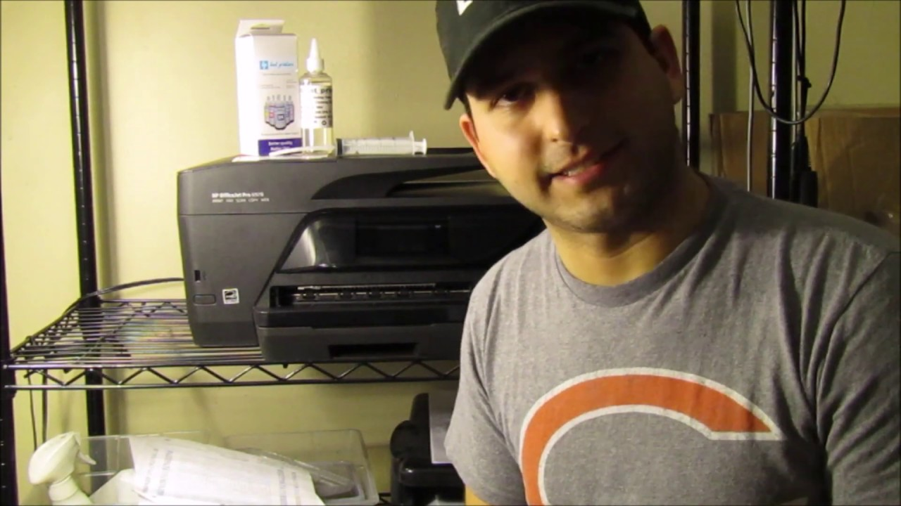 Hp Officejet 6978 How To Unclog Printhead Not Printing