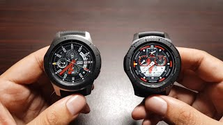 5 major differences between Galaxy Watch and Gear S3 Frontier!