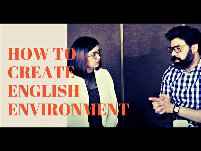 How To Create English Environment | Build English Routine at Home during Coronavirus Pandemic