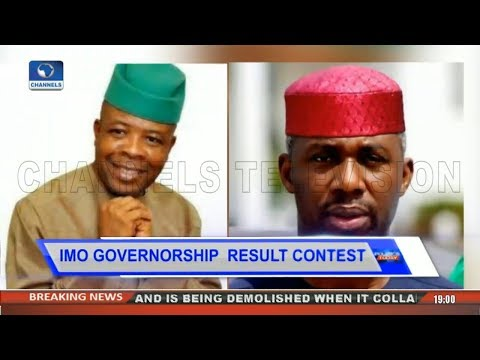 Controversy Over  Imo Gov'ship Poll As Nwosu Alleges Fraud Pt.2 |Politics Today|