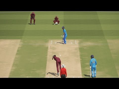 India vs WestIndies Gameplay With Ashes Cricket | CWC19 | WI VS IND | PC Gameplay