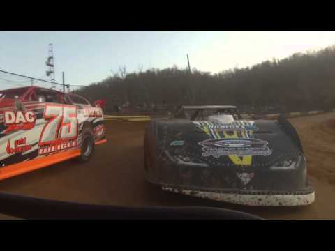Daniel Hill GoPro footage from Tyler County Speedway 4162016