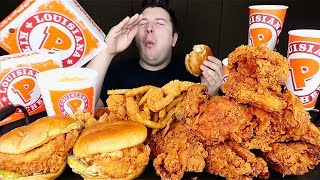 Trying Popeye's New Chicken Sandwich • MUKBANG