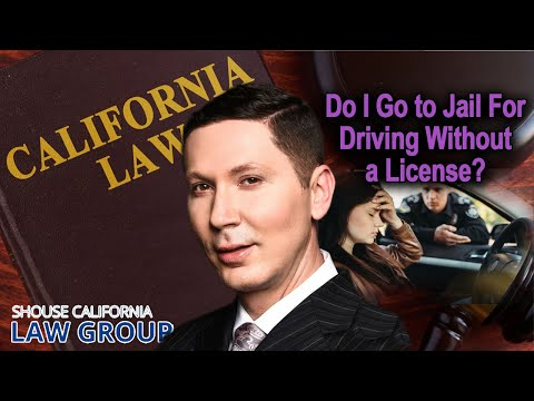 Can I go to jail for driving without a license?