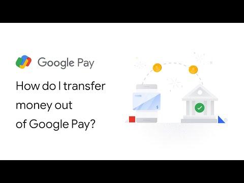 How do I transfer money out of Google Pay?