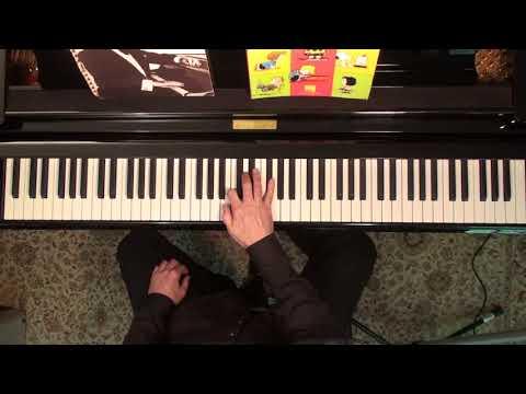The Riff on piano | Blues on a II-V-I | Green Dolphin Street | JPC