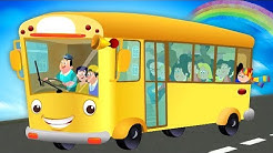 hjul på bussen | sanger for barn | Wheels On The Bus | Kids Tv Norsk | Kids Rhymes