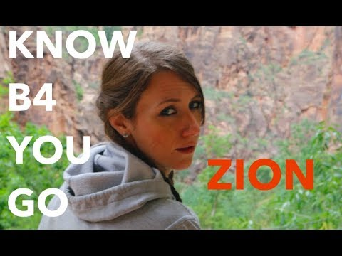 5 Tips for Visiting ZION